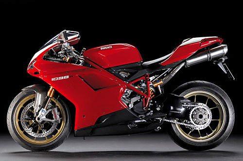 Ducati 1098 R - Left Side