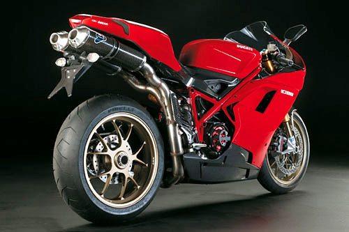 Ducati 1098 R - Rear View
