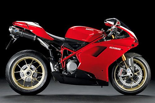 Ducati 1098 R - Right Side