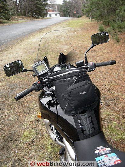 Givi D 405 ST Windscreen, Rear View