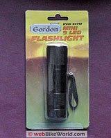Harbor Freight Gordon LED Flashlight