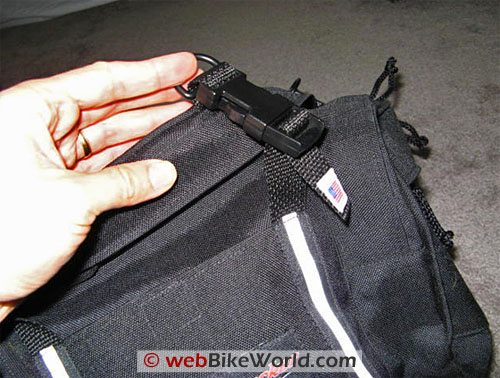 Luggage Locker Tank Bag Cinch Straps
