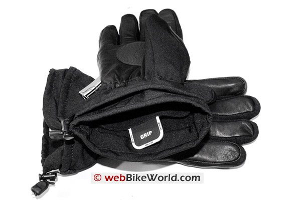 Olympia Commander Gloves Cuff