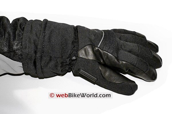 Olympia 4298 Gore-Tex 2in1 Commander Gloves - Top View
