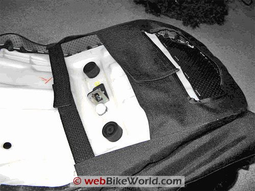 Luggage Locker Elite Seat Sack Motorcycle Tail Bag - Bottom View