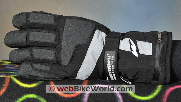 Warmthru Battery Heated Gloves - Back Side