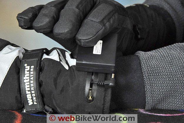 Warmthru Battery Heated Gloves - Battery