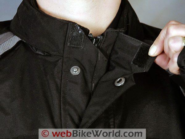Firstgear TPG Rainier Jacket - Neck Close-up