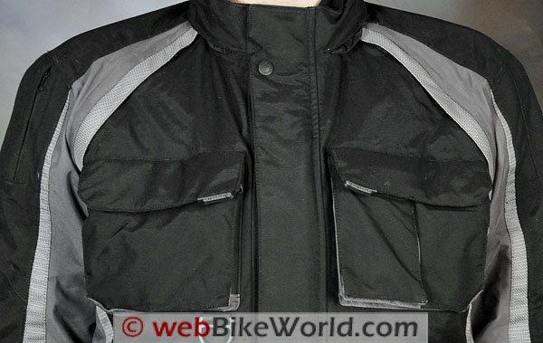 Firstgear TPG Rainier Jacket - Upper Chest and Pockets