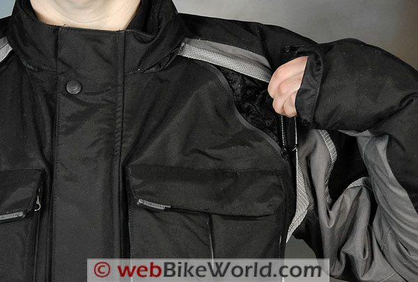 Firstgear TPG Rainier Jacket - Front Vent