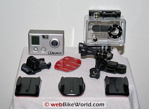 HERO Camera Video Camera - Contents of Kit