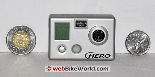 HERO Camera Video Camera Size