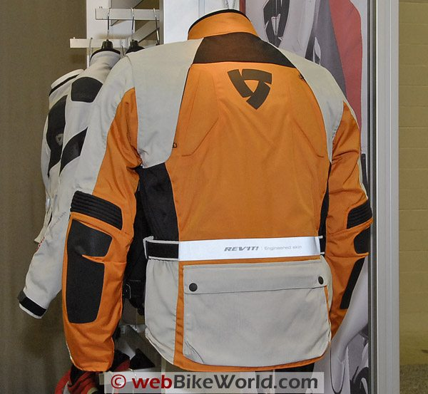 Rev'it Cayenne Pro Jacket - Rear