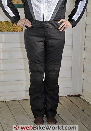 REV'IT! Factor Women's Motorcycle Pants - Front