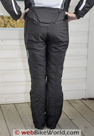 REV'IT! Factor Women's Motorcycle Pants - Rear