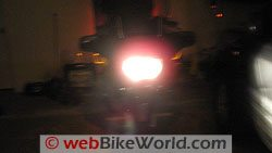 Motorcycle Standard Halogen Light - High Beam