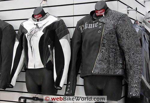 Teknic Venom Jacket (left); Vogue Jacket (right)