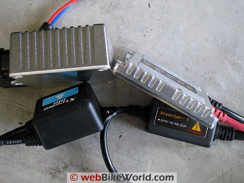 XenonDepot HID Conversion kit (left); CQ Lighting (right).