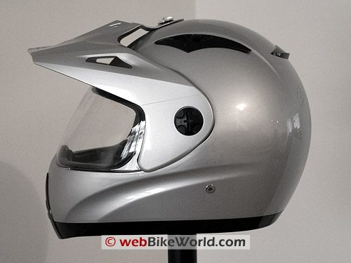 Zeus ZS-2100 B Helmet Side View