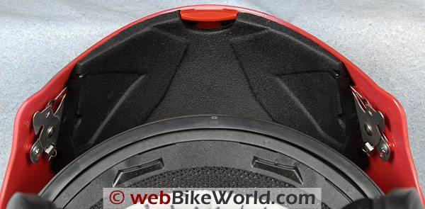 AFX FX-28 Motorcycle Helmet - Chin Bar Latch
