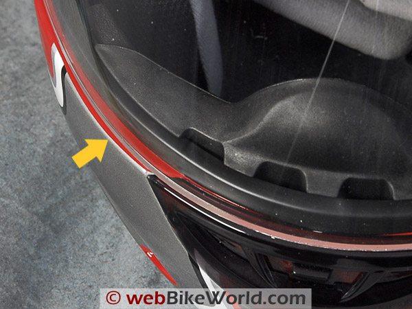 AFX FX-28 Motorcycle Helmet - Visor