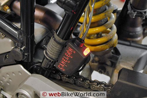 Cameleon Motorcycle Chain Oiler - Control Unit