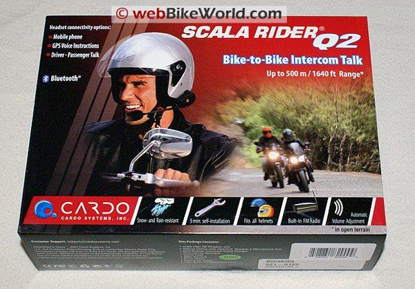 Cardo Scala Rider Q2 Box