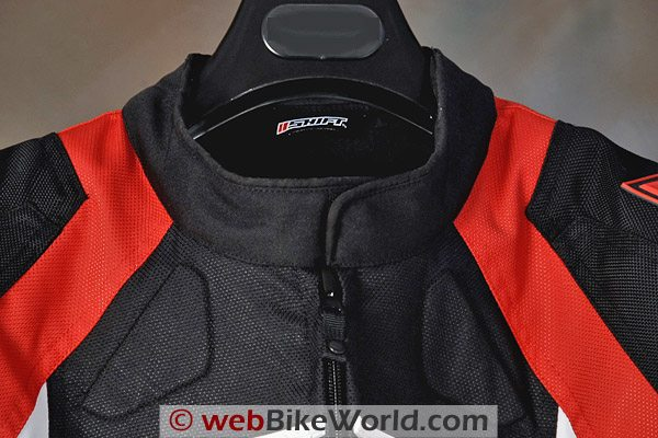 SHIFT Streetfighter SS Waterproof Jacket - Collar, Front View