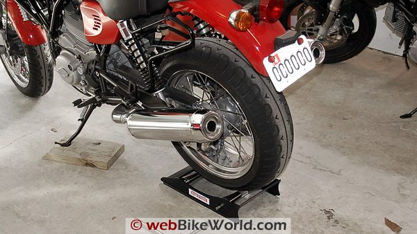 Easy Wheeler II Motorcycle Wheel Roller