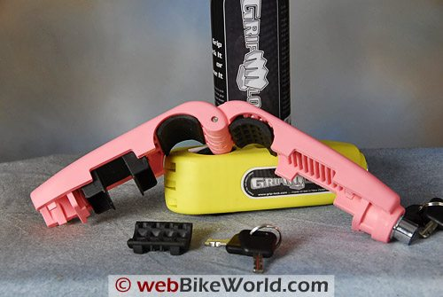 Grip Lock Motorcycle Throttle Lock and Brake Lock