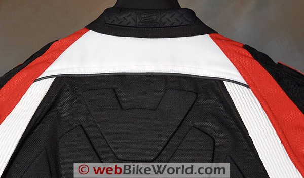 SHIFT Streetfighter SS Waterproof Jacket - Collar, Rear View