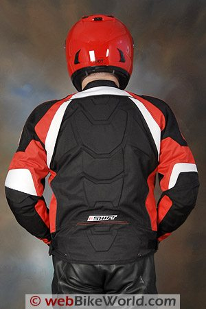 SHIFT Streetfighter SS Waterproof Jacket - Rear