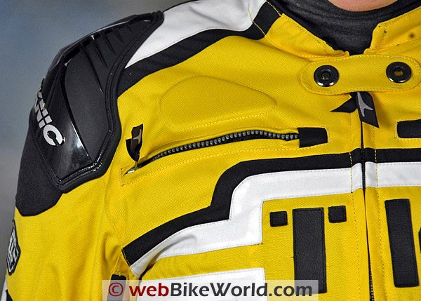 Teknic Freestyle Jacket -Front Chest Vent