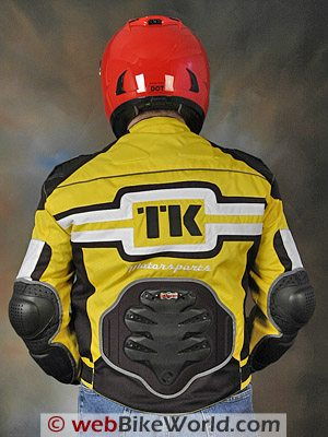 Teknic Freestyle Jacket - Rear View