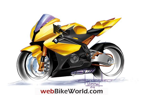 BMW S 1000 RR - Drawing