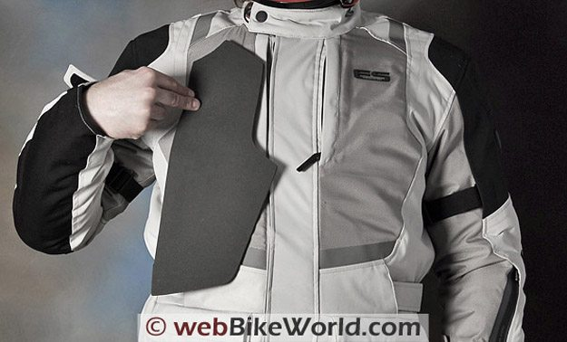 REV'IT! Sirocco Jacket - Front and Foam Pocket Liner