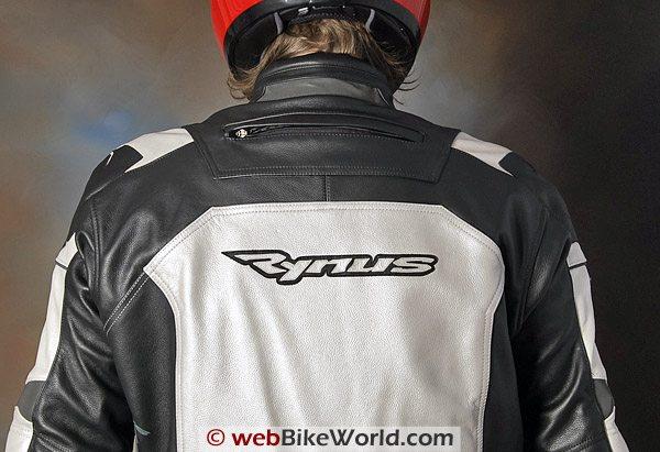 Rynus Ruah Motorcycle Jacket - Upper Back