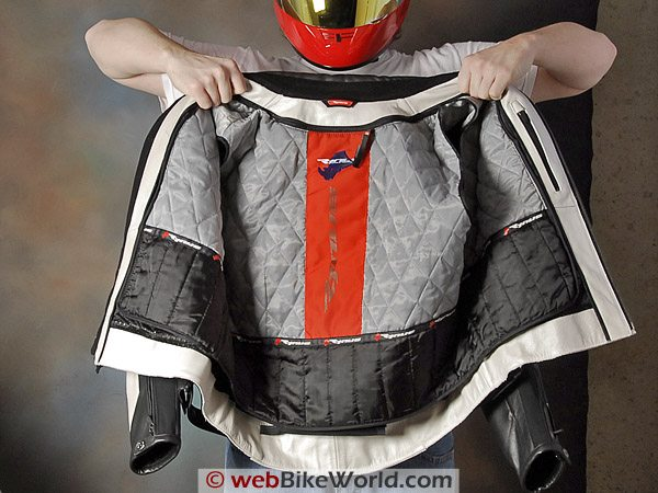 Rynus Ruah Motorcycle Jacket - Insulating Removable Liner