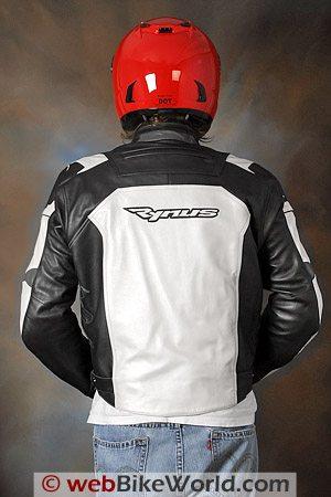 Rynus Ruah Motorcycle Jacket - Rear