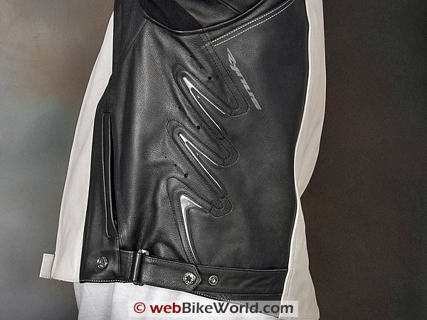 Rynus Ruah Motorcycle Jacket - Side Treatment and Vents