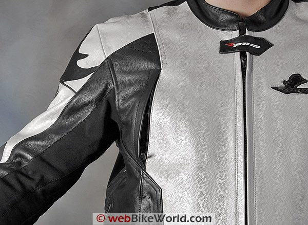 Rynus Ruah Motorcycle Jacket - Shoulder and Front Vent