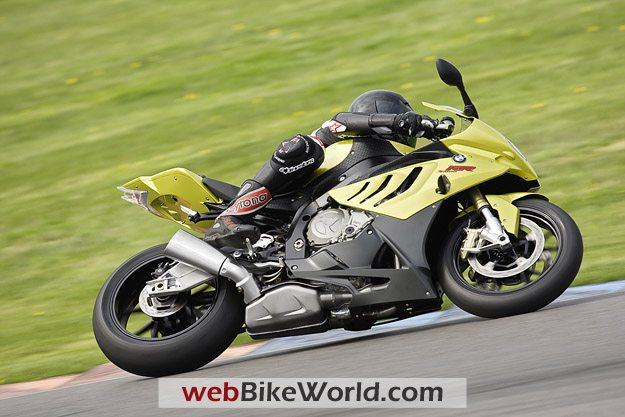 BMW S1000RR - On Race Track
