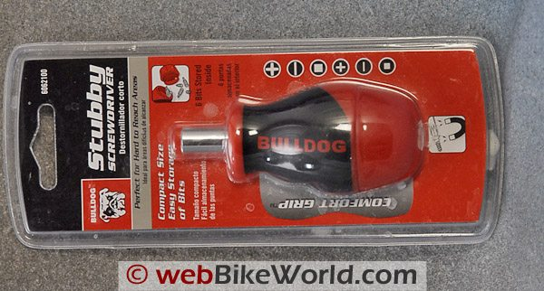 Bulldog Stubby Screwdriver - Package