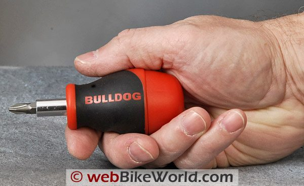 Bulldog Stubby Screwdriver - Hand