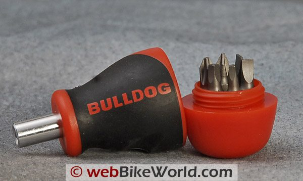 Bulldog Stubby Screwdriver - Close-up