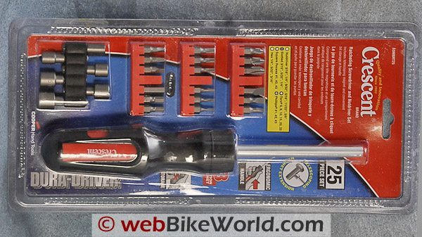 Crescent Dura Driver Ratcheting Screwdriver - Package