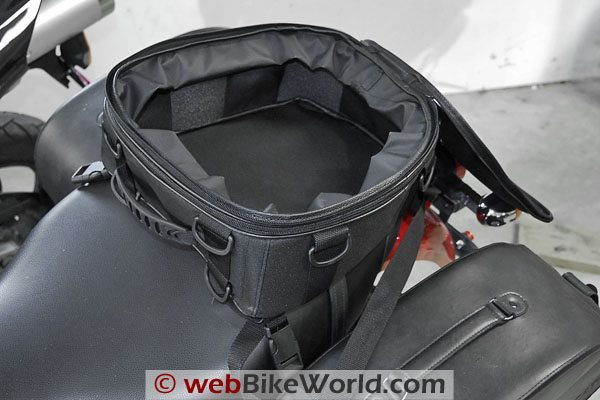 Hepco & Becker SportStar Tail Bag - Inside