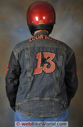 Icon Strongarm 13 Jacket - Rear View