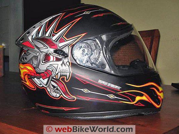 Rjays Striker Helmet - Side View