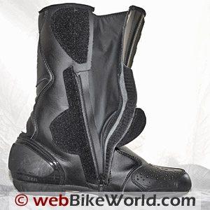 Sidi Strada Evo Rain Boots - Inside Opening